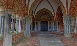 Lübeck Panorama - Dom Paradies