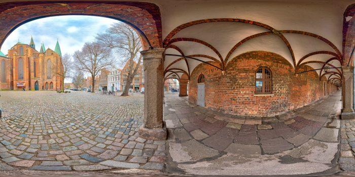 Kanzlei Luebeck und Marienkirche Luebeck